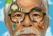 Hayao Miyazaki / Studio Ghibli Collection:) / Anime And Life(: / by Isaac Baez