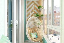 Decoración: balcón