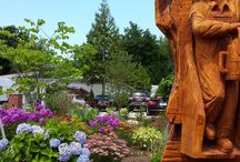 Think Spring / Spring has arrived! Check out Saybrook Point Inn's beautiful landscaping!