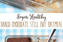 Steel cut oats.