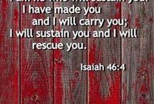 Encouraging Scriptures / Quotes