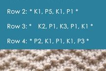 knit easy seed pattern