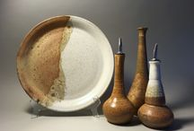 Pottery serving sets