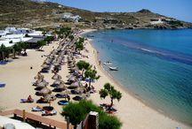 Mykonos best beaches / About the best beaches to go in Mykonos island