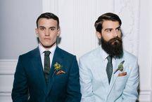 Novios con barba / Grooms with beard