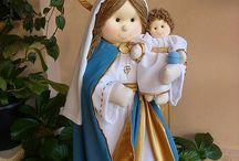 Santos e anjos