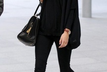 Black outfits / ...