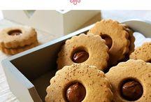 biscotti al caffè con nutella