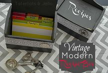 Recipe box / by Brandi Maners