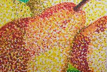 Year 7 Pointillism
