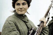 Снайперы СССР 2 мировая