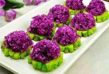 Mor lahanalı salatalık