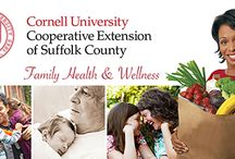 Family Health & Wellness / Suffolk County residents turn to Cornell Cooperative Extension's Family Health & Wellness program for timely, research-based information. Adults with concerns about raising healthy children, chronic disease prevention, proper nutrition, food safety, diabetes education and weight management rely on FHW as a reliable source. Families with limited resources count on FHW to address needs relevant to their lives.