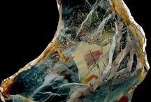 Art of the Nature / Natural artworks of the nature like landscape agates, landscape jasper, portret stones, pictured stones,