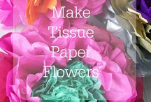 tissue and paper