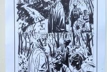 Comic Sketches, Pencils, Inks