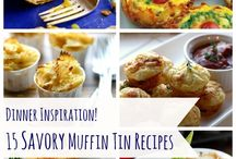 FOOD FROM MUFFINTRAYS / by Spuddy McFuddy