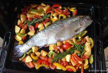 Fisch Rezepte / Ich liebe Fisch, nicht nur weil er gesund ist, sondern weil es so viele tolle Fischrezepte gibt.