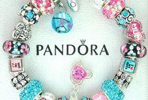 Charm Bracelets / Charm Bracelets and Charms. Mostly Pandora, Chamilia, style bracelets and beads.