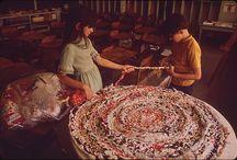 Плетеные  коврики