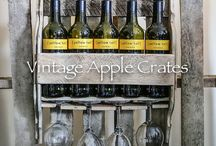New Christmas Products on Etsy / Our new range of Christmas Products made from genuine used apple crates and fruit trays as advertised on Etsy.