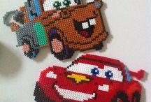 Hama Beads - Cars