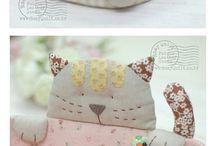 costura cestas e casinhas...