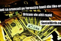 Bani din LIKE-uri! In 2013 e posibil! http://socialbirth.com/