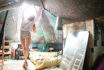 she cave loft ideas