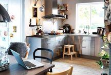 Kjøkken hytte