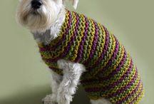 Knitted Dog Coat