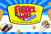 Funnel Cake Express / Some of our logos ideas for Funnel Cake Express