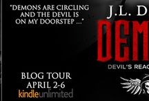 Blog Tour & Giveaway for Demons by JL Drake