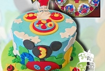 3. Mickey Mouse and friends cakes