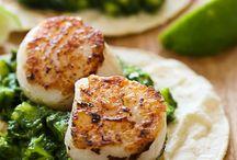 Seafood Dishes / seafood, shellfish, fish, shrimp, crab, recipes