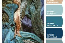 Colour Palette - Moody Blues