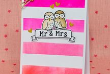 Wedding and Aniverssary cards and tags