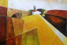 LANDSCAPES & VIEWS /  Contact us infoayaneart@gmail.com Visit us www.ayaneart.com #ayaneart #handmade   #pop #popart #vintage #tribal #orientalstyle  #abstract #trends #view #landscape #landscapes  #picture #painting #panel #canvas #oil colors #oil paint #art #artist #retrospective