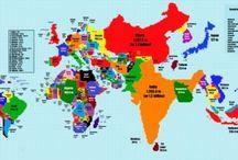 Mapy / Mapy sveta