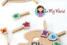 Kindergarten letters