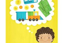 Kids & Money / Great finds for teaching kids money management and responsibility. / by Steph :: Modern Parents Messy Kids