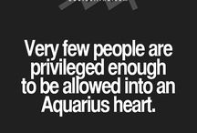 Aquarian  / My zodiac sign fits me perfect