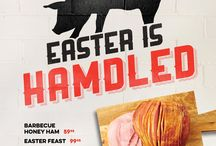 Dickey's Easter 2015 / Celebrate Easter 2015 with Dickey's Barbecue Pit. Dickey's offers whole Barbecue Honey Hams or Complete Easter meals that are mouthwatering and affordable.   So let Dickey's do the work this Easter and you can take all the credit!