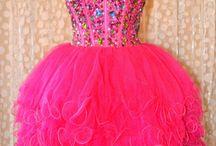 prom poofy dress