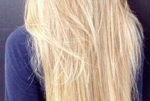 Lange Blonde Haare