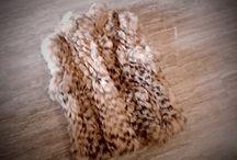 Fur Vests / Handmade real fur vests