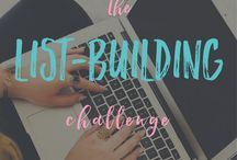 Join my FREE 10-day List-building Challenge / Get an email every day for 10 days with an action step you can take to grow your email list.