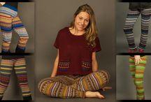 Ethnic leggings