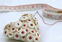 Pincushion / pincushions, diy, crafting, patchwork, quilting, pins