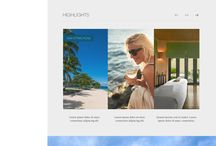 Hotels and resorts webdesign